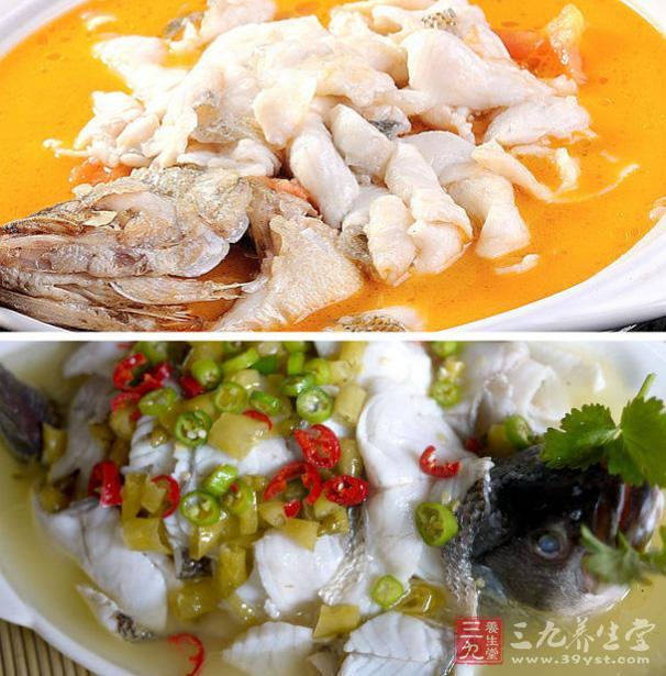 过河白酒配吃法另类汁芥末的蝴蝶菜品芥末水煮鲈鱼图片