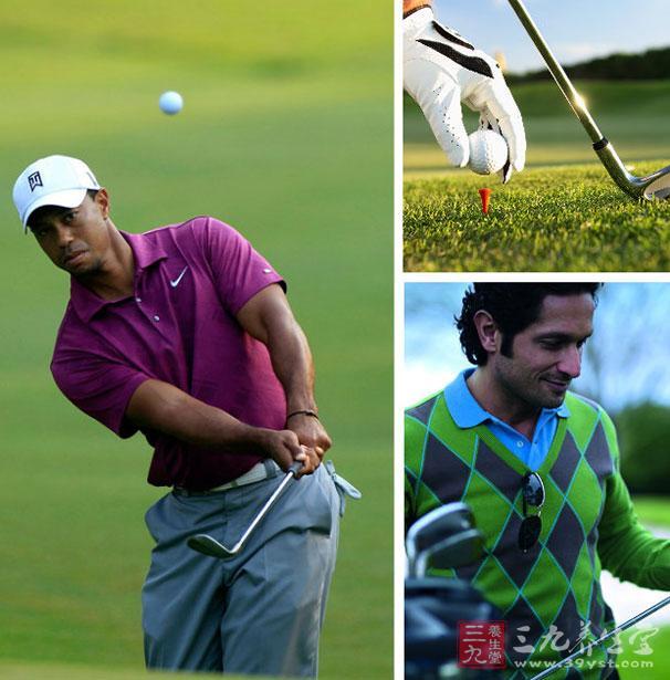 高尔夫球技巧 高尔夫球挥杆的误区