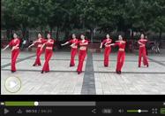 周思萍广场舞红月亮动作分解视频教学