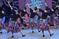 杨艺广场舞 草原风情舞蹈云朵上的羌寨教学视频
