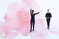 广场舞歌曲 《凉凉》健身舞教学版视频展示