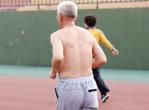 老人跑步预防老年痴呆