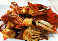 20170927快乐生活一点通菜谱:姜葱炒蟹的做法