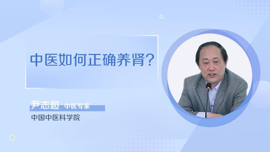 中医如何正确养肾