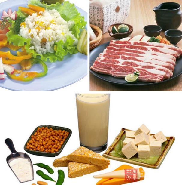 食物要荤素兼顾,粗细搭配,品种越杂越好