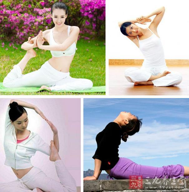 丰胸瑜伽动作组合教学视频