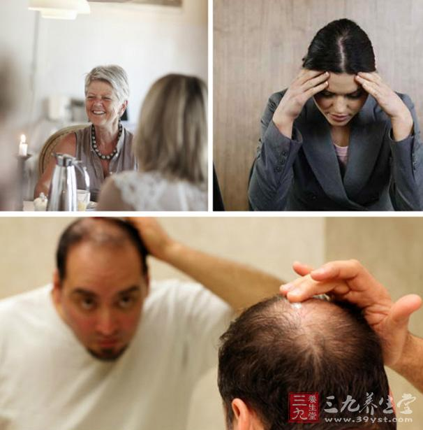 女人白头发真的拔一根长十根吗(11)图片