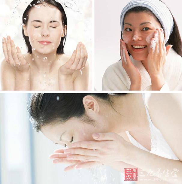 洗脸步骤和手法视频
