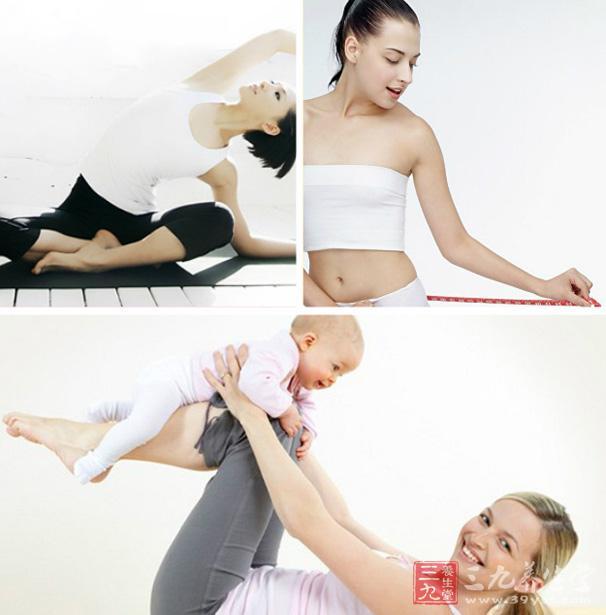 产后6个月前,建议以散步,适当的形体训练和瑜珈训练。   产后6个月后可逐渐进行有氧训练和阻力训练。   有氧训练:健步走每天步行数不超过4000步。建议:每天持续步行10分钟以上;水中健身操、瑜珈训练、形体训练。    阻力训练:全身主要肌肉训练,根据产妇的特点针对腿部、臀部、腹部和胸部进行有效的塑型训练,   注:因产后特殊身体状况,运动者一定要有专业人士指导,进行训练。   运动强度:中小强度。   运动时间:每次30分钟以上   运动频率:每周3次以上   上班族女性减肥运动建议   建议运动