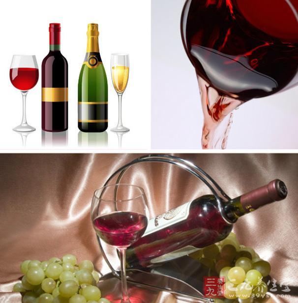 红酒有滋补作用