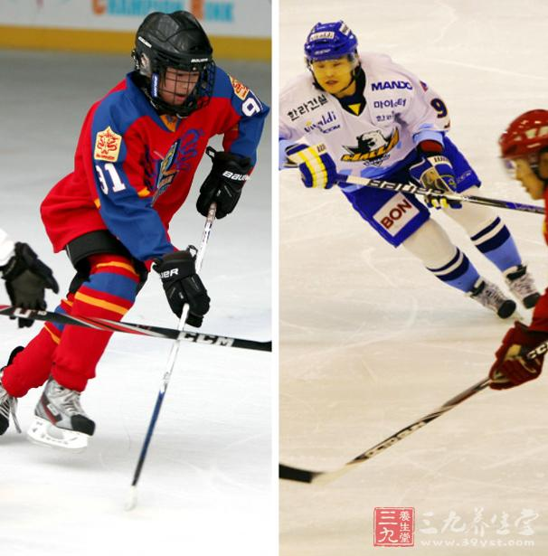 滑跑是冰球运动员必须熟练掌握的最基本技术,包括起跑、正滑、倒滑、惯性转弯、压步转弯、急停等技术