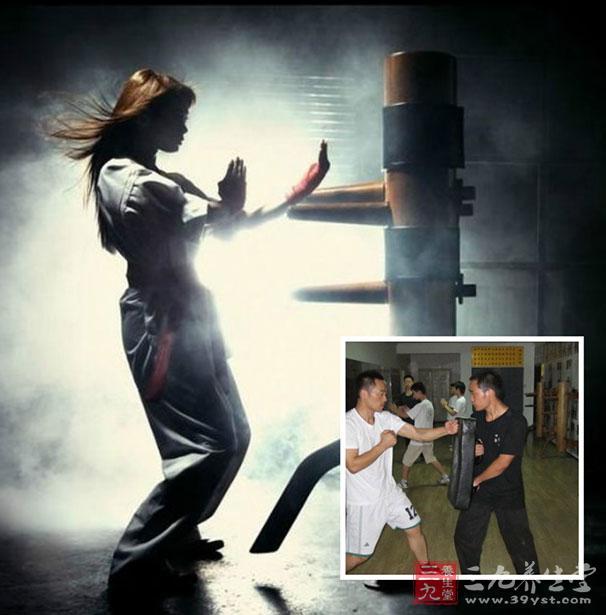 咏春拳教学 咏春拳的十二式藤圈手(2)图片