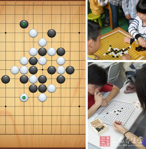 学习五子棋的好处   1, 学习五子棋,能养成静的习惯,学棋后感觉图片