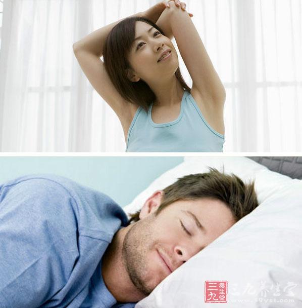 睡醒了伸懒腰可爱图片