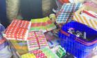 上海查获200余万件假冒进口水果标签