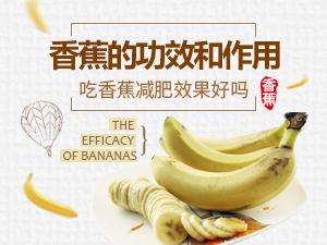 香蕉的功效和作用 吃香蕉减肥效果好吗