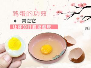 鸡蛋的功效 常吃它让你的肝脏更健康