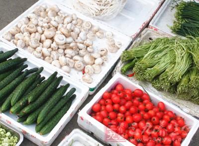 你可以尽情尽兴,大吃特吃新鲜水果和蔬菜