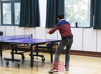 夏天打乒乓球竟能帮你减肥