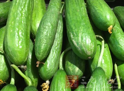 在日常生活中,相信很多人都只是将黄瓜作为食物来食用了而已