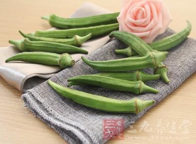 秋葵中的果胶、粘性物质还能够吸收身体内部的杂质