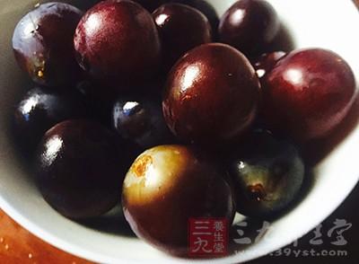 葡萄中含有一种抗氧化物质——花青素