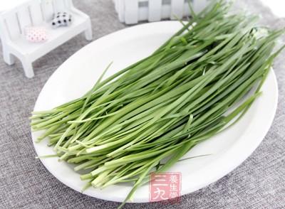 """吃韭菜的好处 吃这种""""洗肠草""""养肝还美容"""