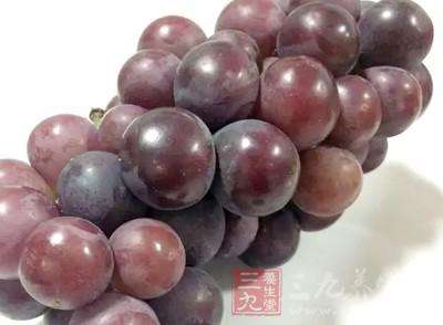 在葡萄中含有一种褪黑素