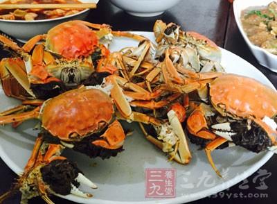 第一类:吃蟹有过敏史或有荨麻疹、过敏性哮喘、过敏性皮炎的人
