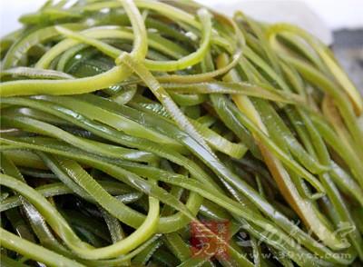 紫菜和海带等食物的营养价值特别高