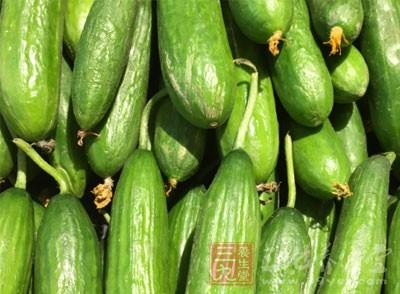 黄瓜的功效 美容排毒防便秘