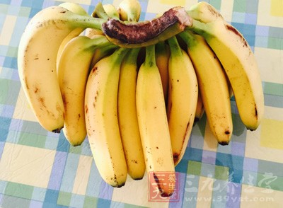 香蕉含多种微量元素和维生素