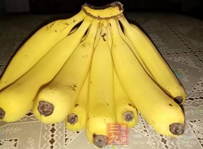 酒后吃一些香蕉,有增加血糖浓度的效果