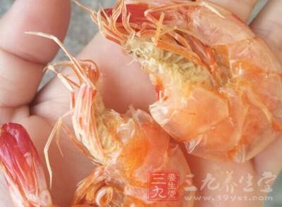所以说,大虾对于肾阳亏的人是有很大功效的