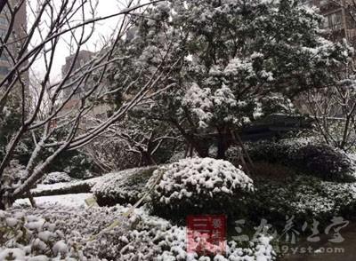 冬天,寒风凛冽、气候干燥