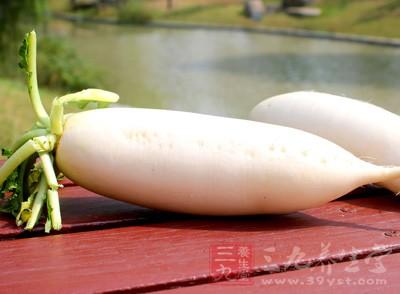 """白萝卜可""""利五脏、令人白净肌肉"""""""