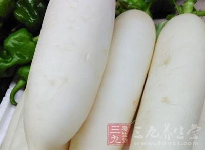 将新鲜萝卜连皮磨成汁,敷在患处
