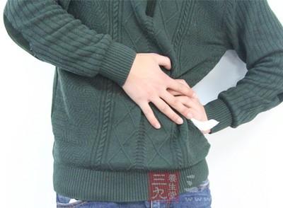 局部疼痛感,如下腹部隐隐坠痛