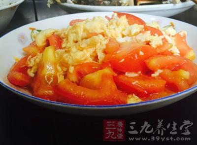 番茄炒蛋的营养价值 常吃身体健康