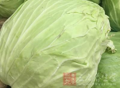 常吃卷心菜杀菌消炎补钙