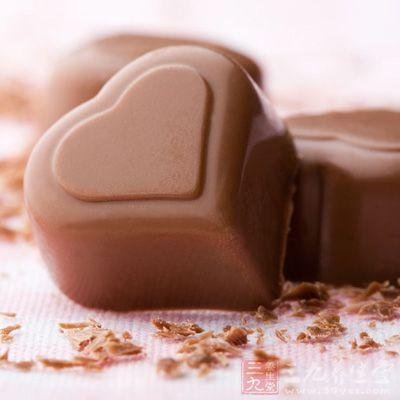 巧克力让你有饱腹感